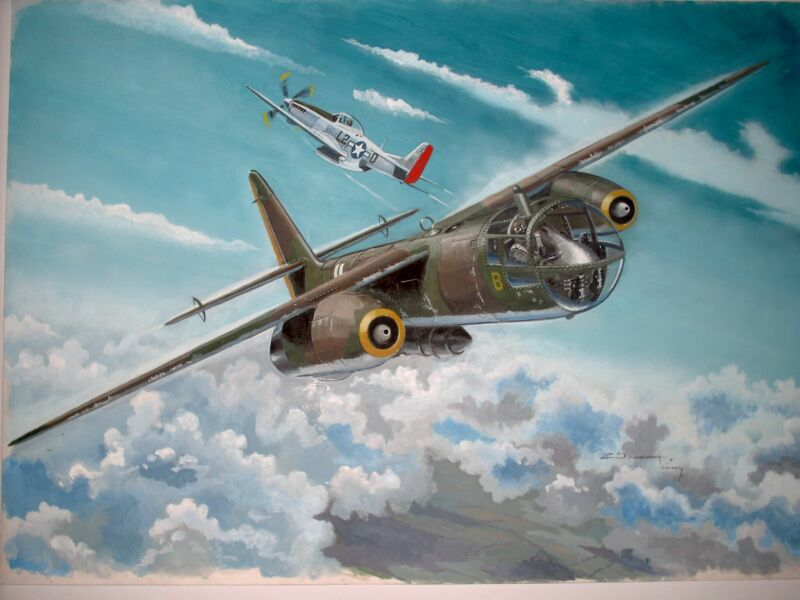 ARADO AR-234 18 X 25 INCHES